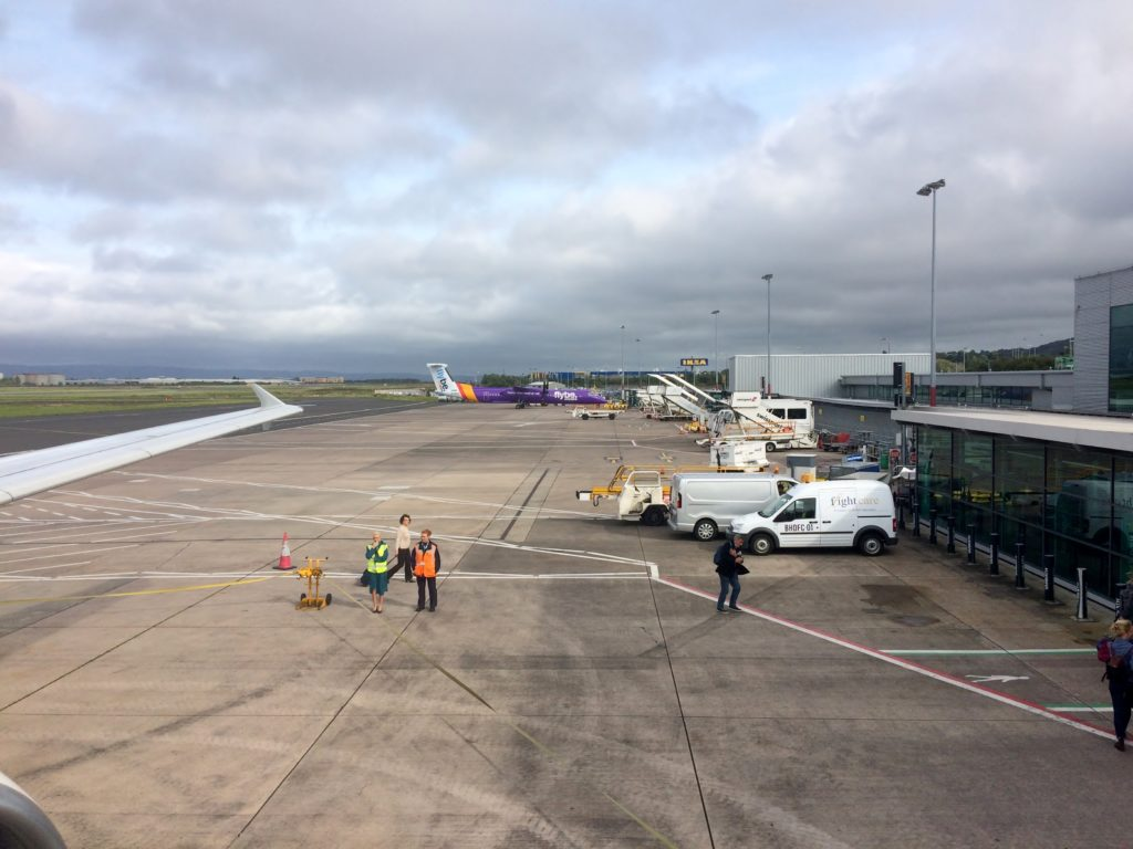 Aer Lingus Economy Class London Heathrow-Belfast City