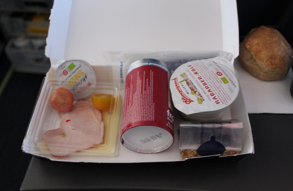 The SAS breakfast box