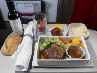 Air France Business Class Paris CDG-Stockholm