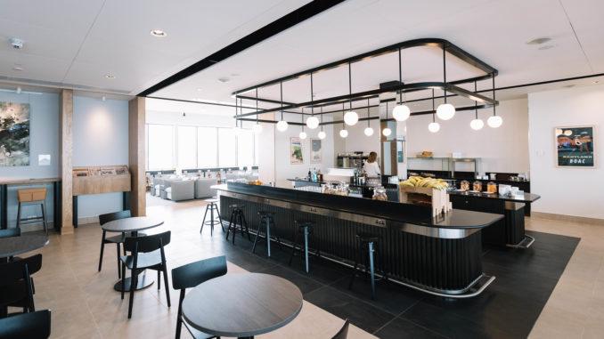 British Airways Lounge Aberdeen