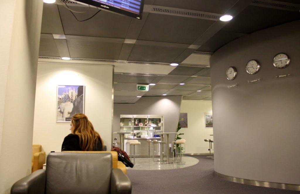 Lufthansa Business Lounge Milan Malpensa Terminal 1