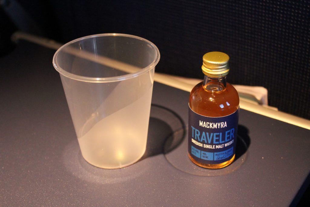 Mackmyra whisky on SAS