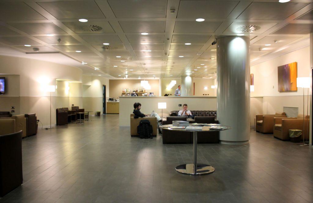 Sala Monteverdi Lounge Milan Malpensa Terminal 1