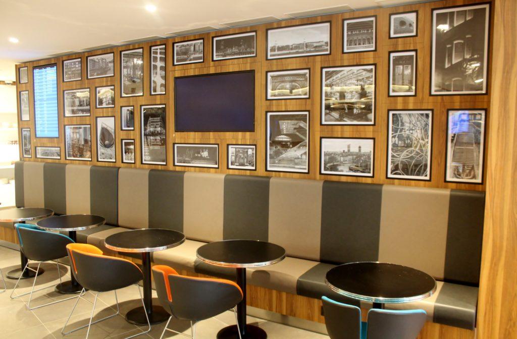 Salon Mont Blanc Lounge, Lyon St-Exupéry
