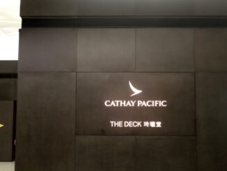 Cathay Pacific The Deck Lounge, Hong Kong