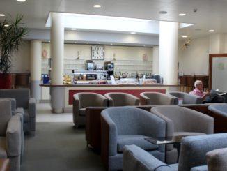 British Airways Lounge Jersey