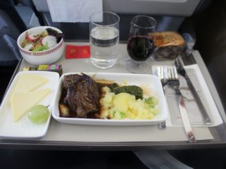 Iberia Business Class Madrid-Zürich