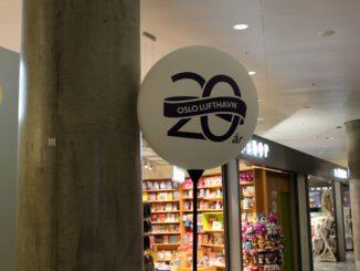 Oslo Gardermoen 20 years anniversary