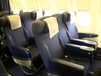 British Airways Comair Business Class Johannesburg-Durban