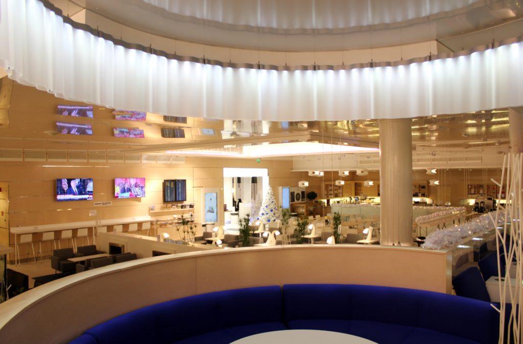 Finnair non-Schengen Lounge in Helsinki