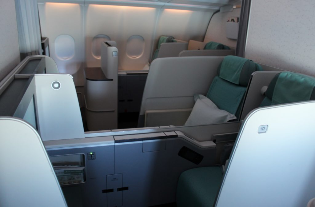 Korean Air First Class Seoul Incheon-Taipei