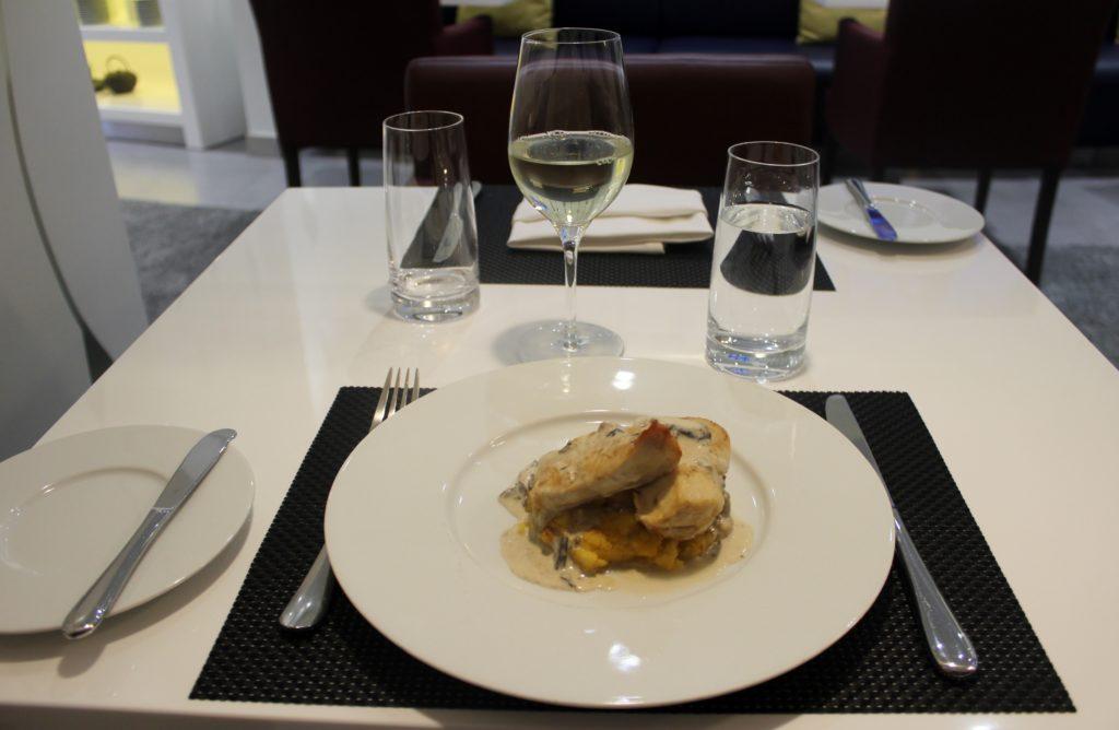 Lunch in the Air Serbia Premium Lounge in Belgrade