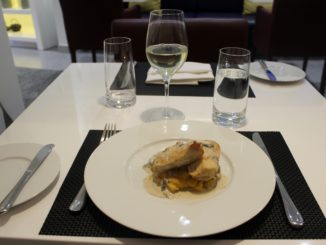 Lunch in the Air Serbia Premium Lounge in Belgrade