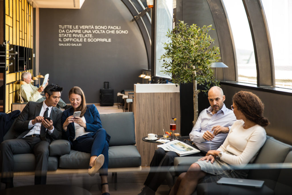Star Alliance Lounge Rome