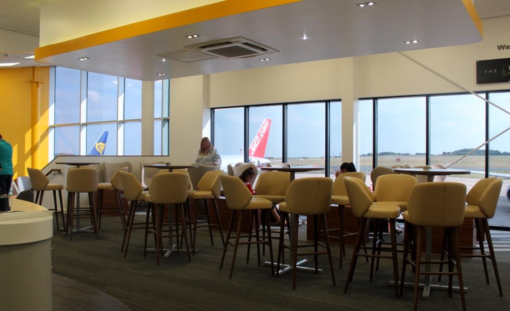 The 1432 Runway Club Lounge, Leeds Bradford