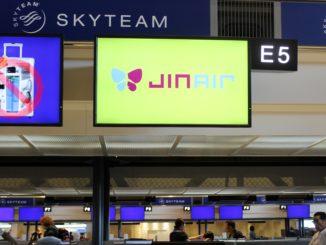 Jin Air Tokyo Narita-Seoul Incheon