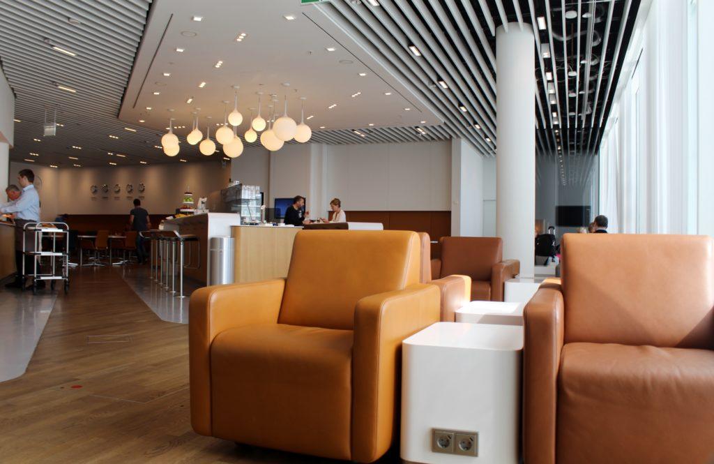 Lufthansa Business Class Munich-Lisbon