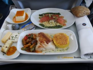 Lufthansa Business Class Munich-Lisbon