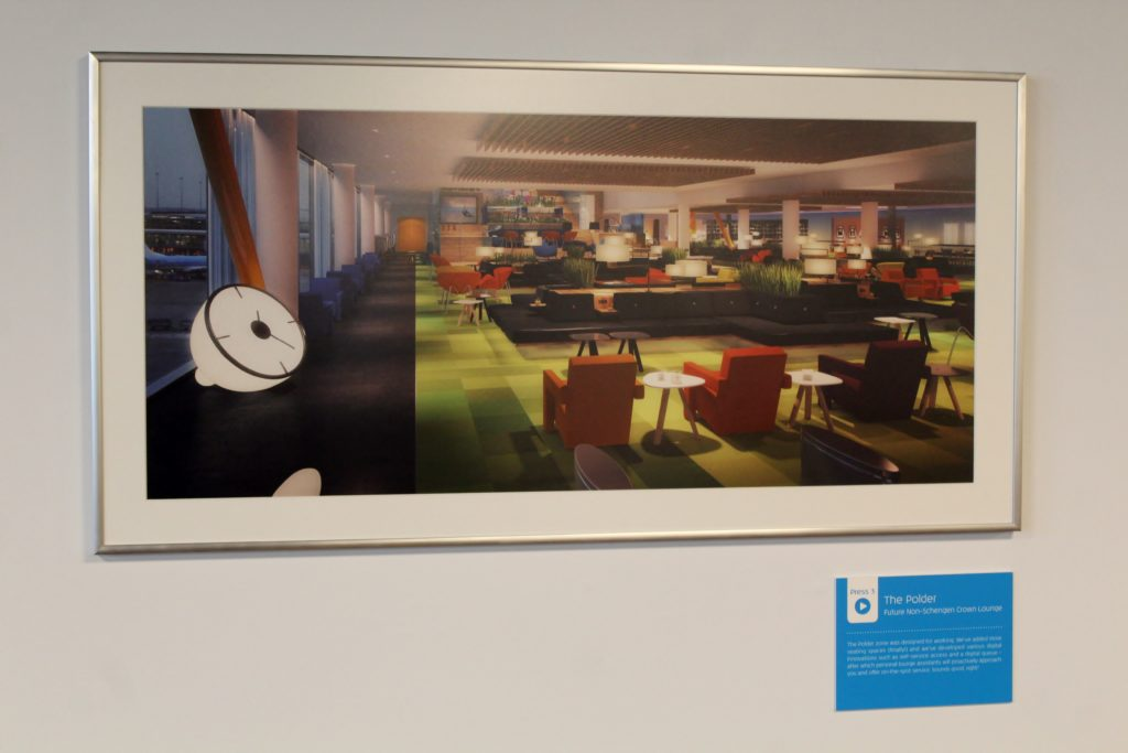 A guided tour of the new KLM non-Schengen Crown Lounge at Amsterdam Schiphol