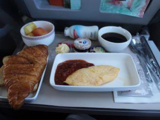 Breakfast in Iberia Business Class