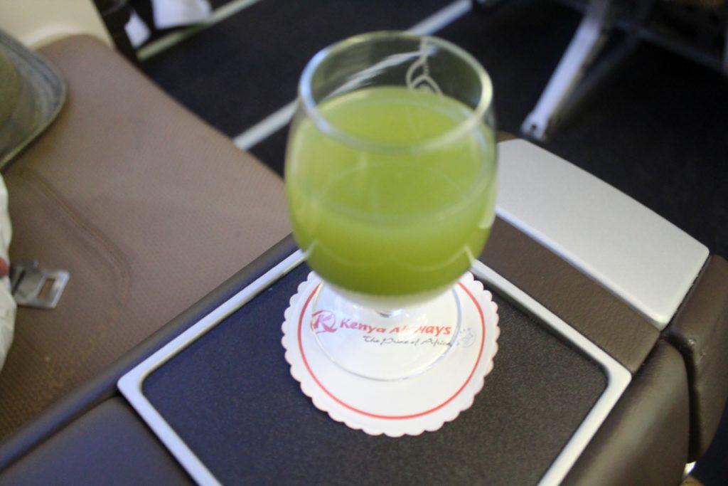 Kenya Airways Business Class Cape Town-Nairobi
