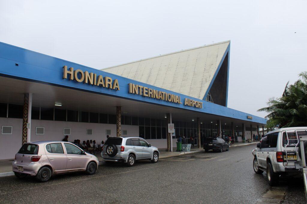 Air Niugini Business Class Honiara-Port Moresby