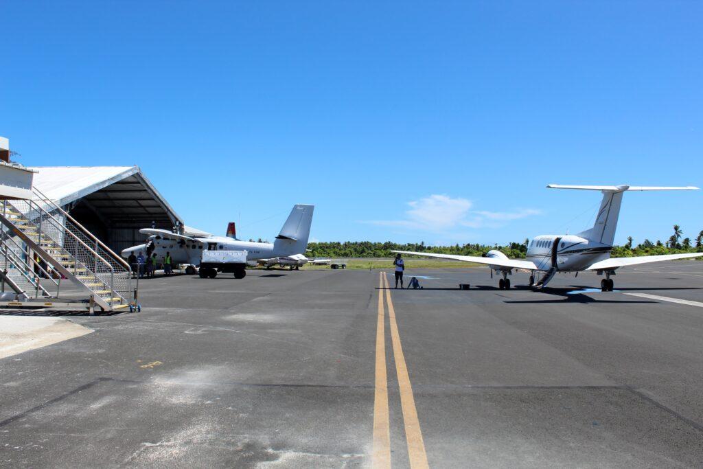 Fiji Airways Economy Class Nadi-Tarawa