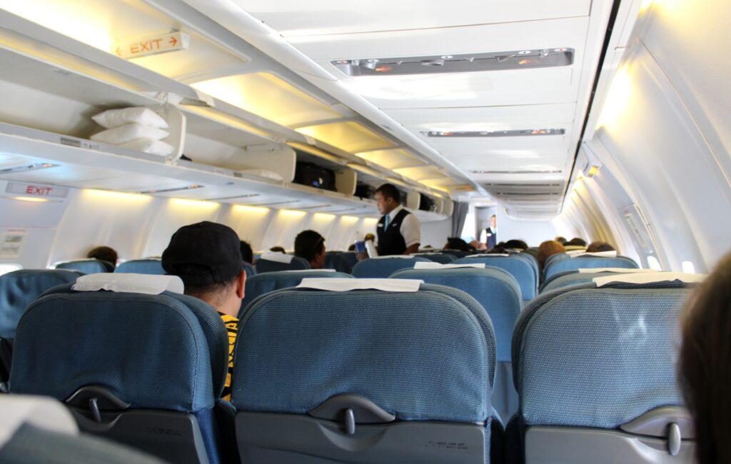 Solomon Airlines/Nauru Airlines Economy Class Tarawa-Honiara