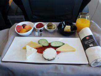 Turkish Airlines Business Class Copenhagen-Istanbul
