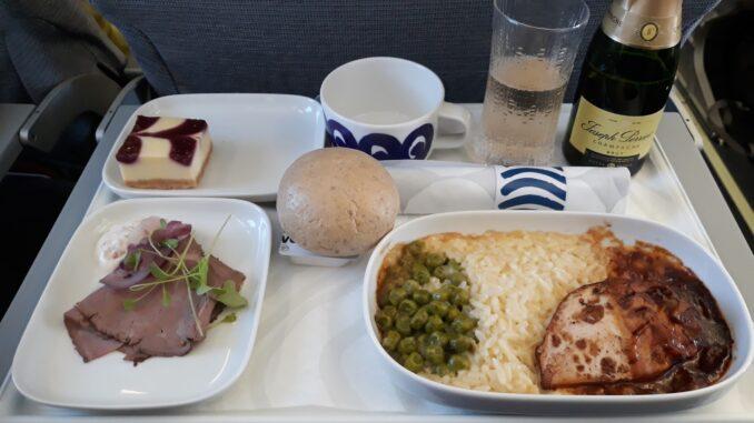 Finnair Business Class Hamburg-Helsinki