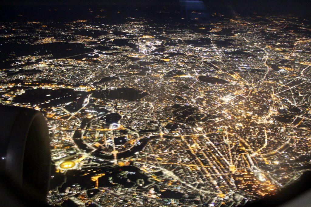 Lufthansa Business Class Frankfurt-Rome