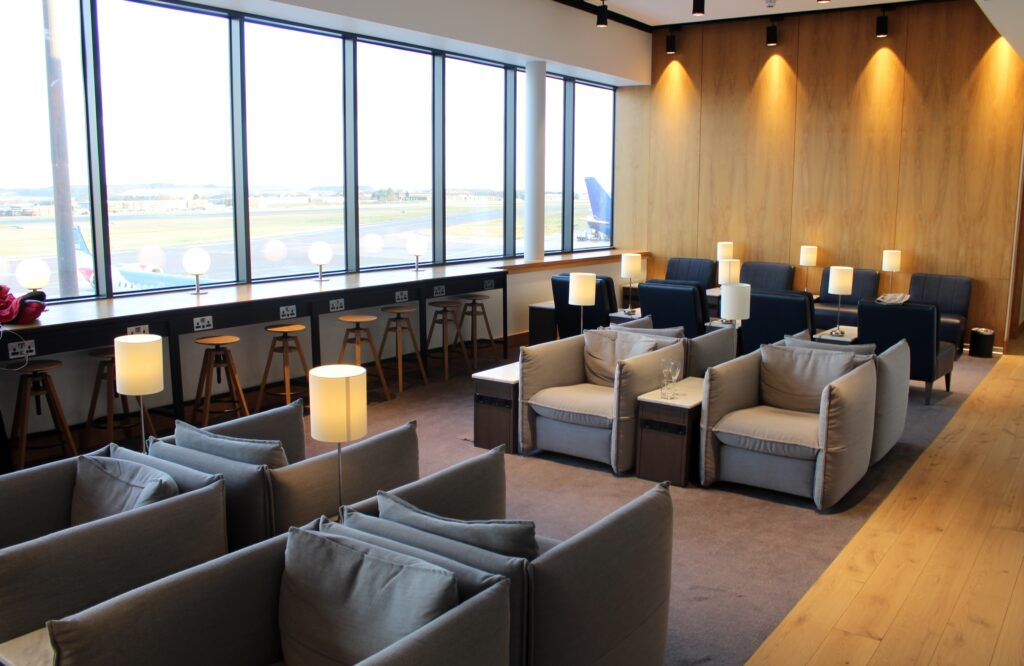 British Airways Lounge, Aberdeen