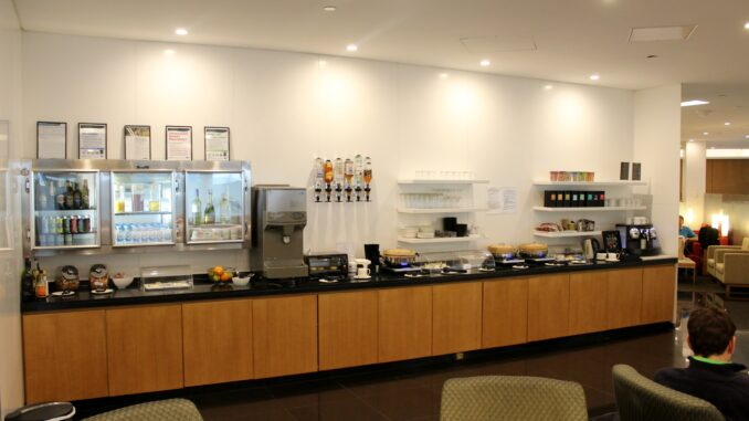 Cathay Pacific Lounge, Melbourne