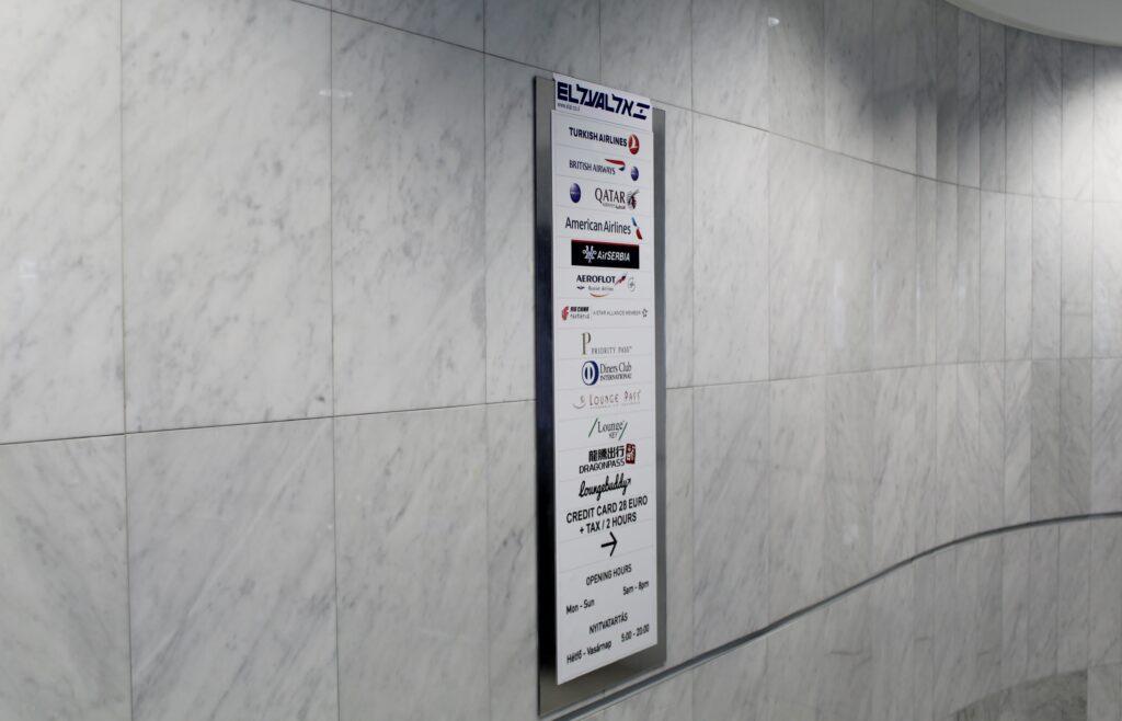 Celebi Platinum Lounge, Budapest, Terminal 2B