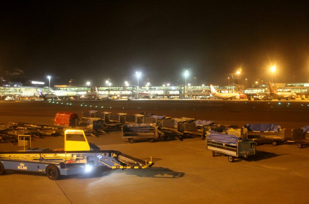 KLM Business Class Stockholm Arlanda-Amsterdam