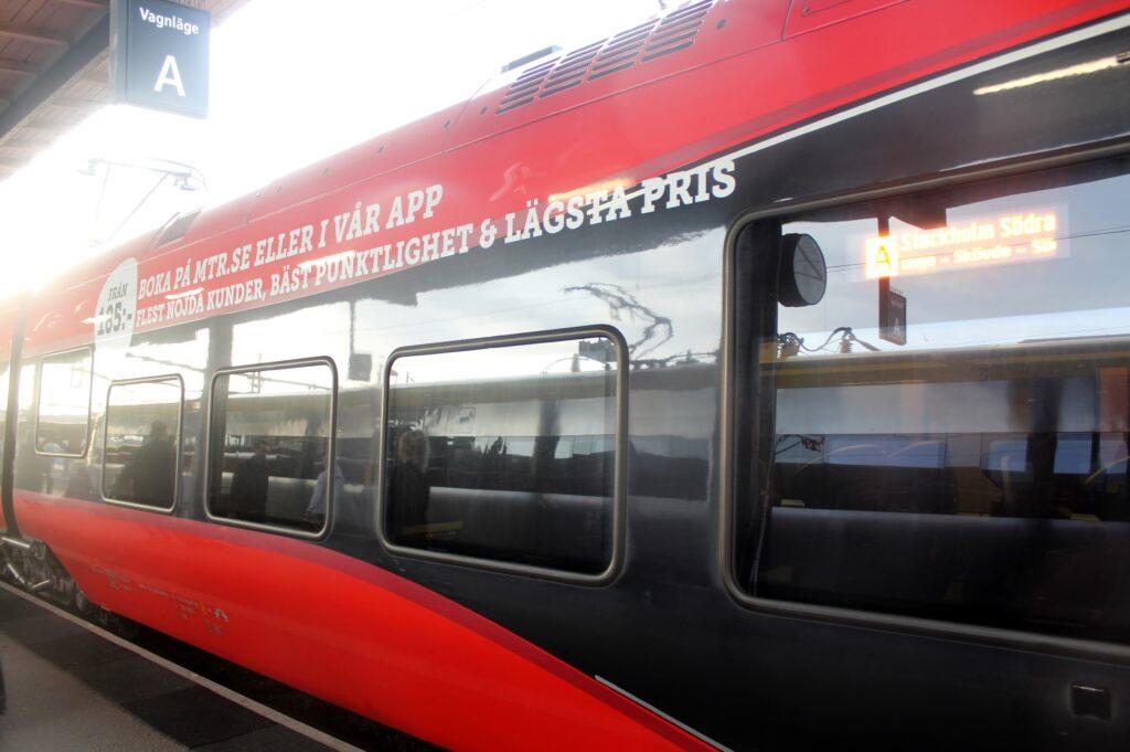 MTR Express 1 Klass Plus Gothenburg-Stockholm