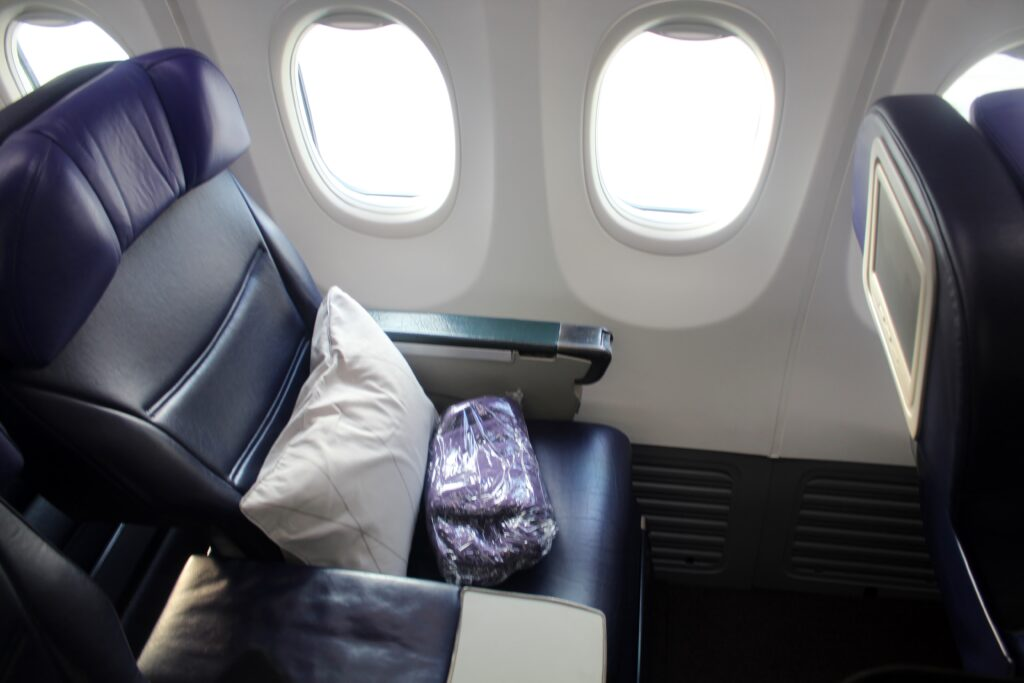 Malaysia Airlines Business Class Hong Kong-Kuala Lumpur
