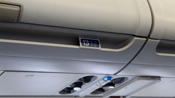 Row 13 on Finnair