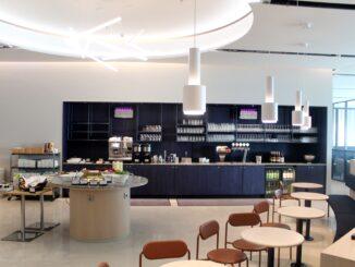 The new Finnair non-Schengen business lounge at Helsinki Vantaa