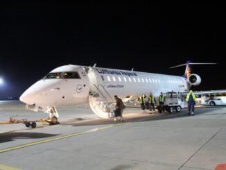 Lufthansa Cityline Business Class Poznan-Munich