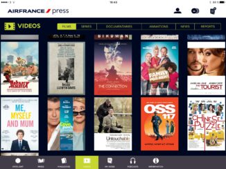 Air France Press app