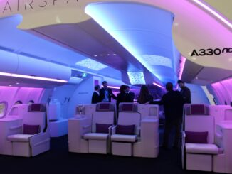 Airbus A330NEO with Airspace by Airbus cabin interior