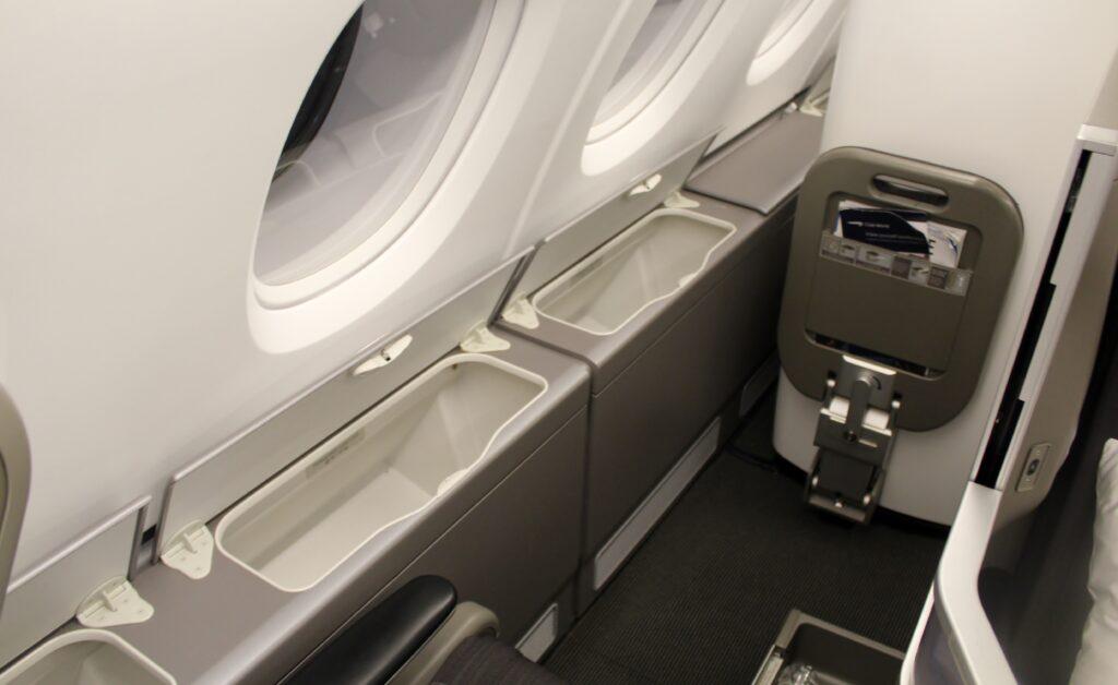 British Airways Club World on the Airbus A380