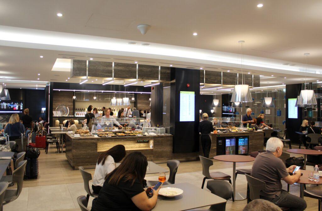 Casa Alitalia Piazza Di Spagna Lounge, Rome Fiumicino