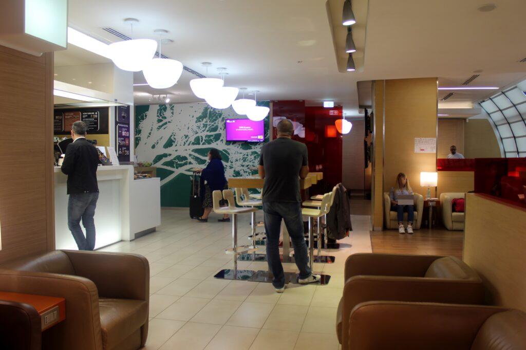 Casa Alitalia Piazza Venezia Lounge, Rome Fiumicino