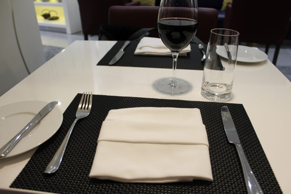Dinner in the Air Serbia Premium Lounge in Belgrade