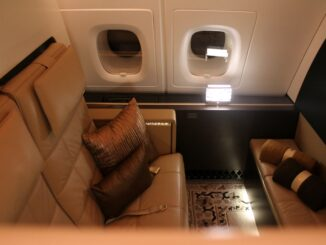 Etihad Airways The Residence on the Airbus A380