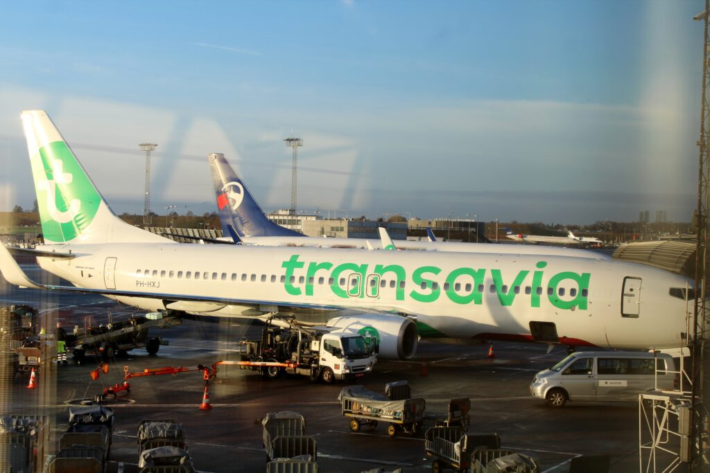 KLM operated by Transavia
