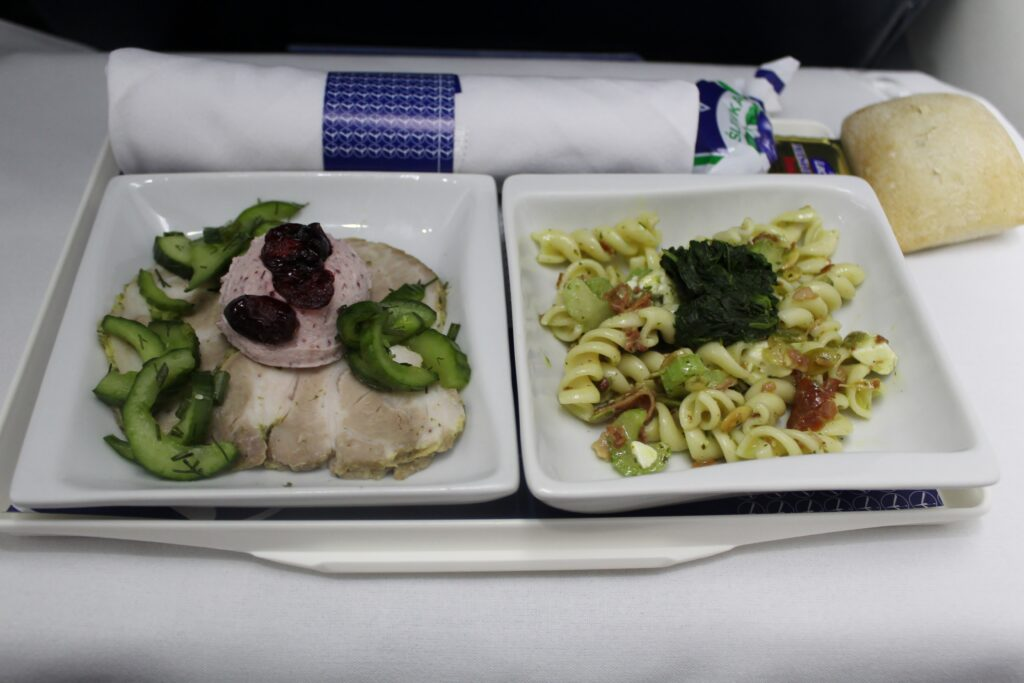 LOT Business Class Stockholm-Warsaw