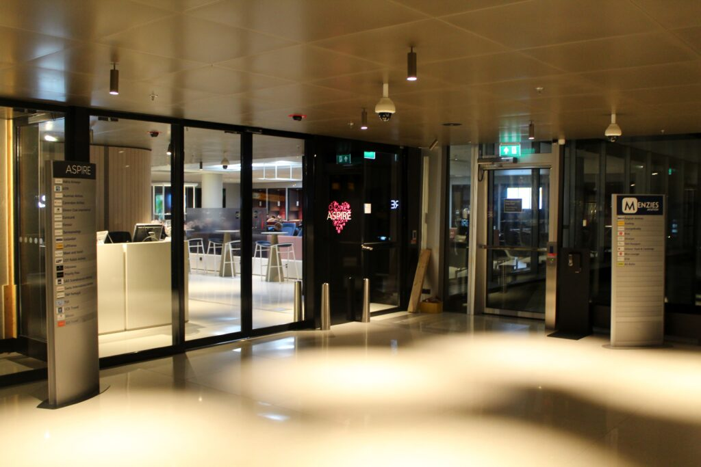 New Aspire Lounge at Amsterdam Schiphol